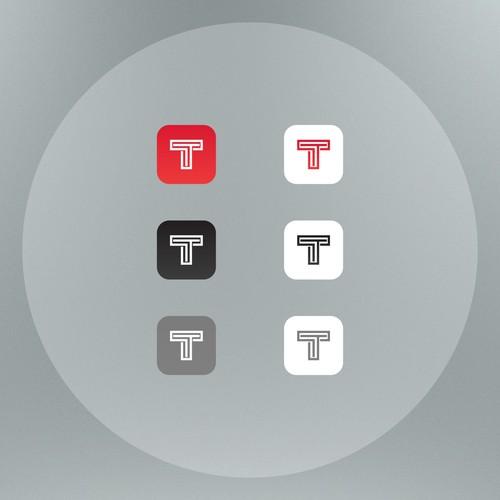 "letter ""T"" icon"