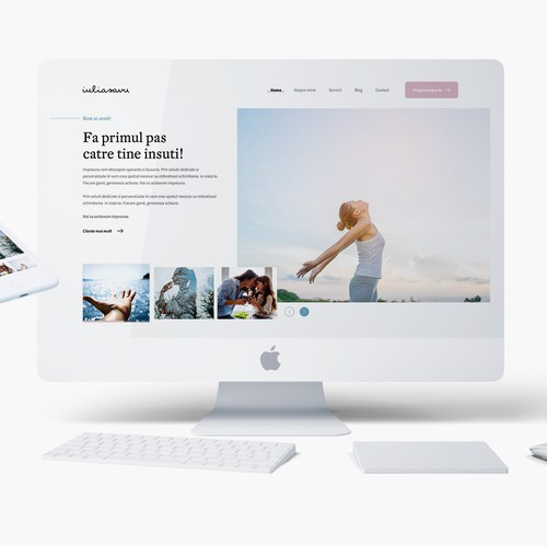 Psychologist Website - Clean & Modern Website Design