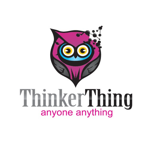 Help Thinker Thing with a new logo