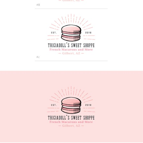 Vintage logo concept for a 'Sweet Shoppe'