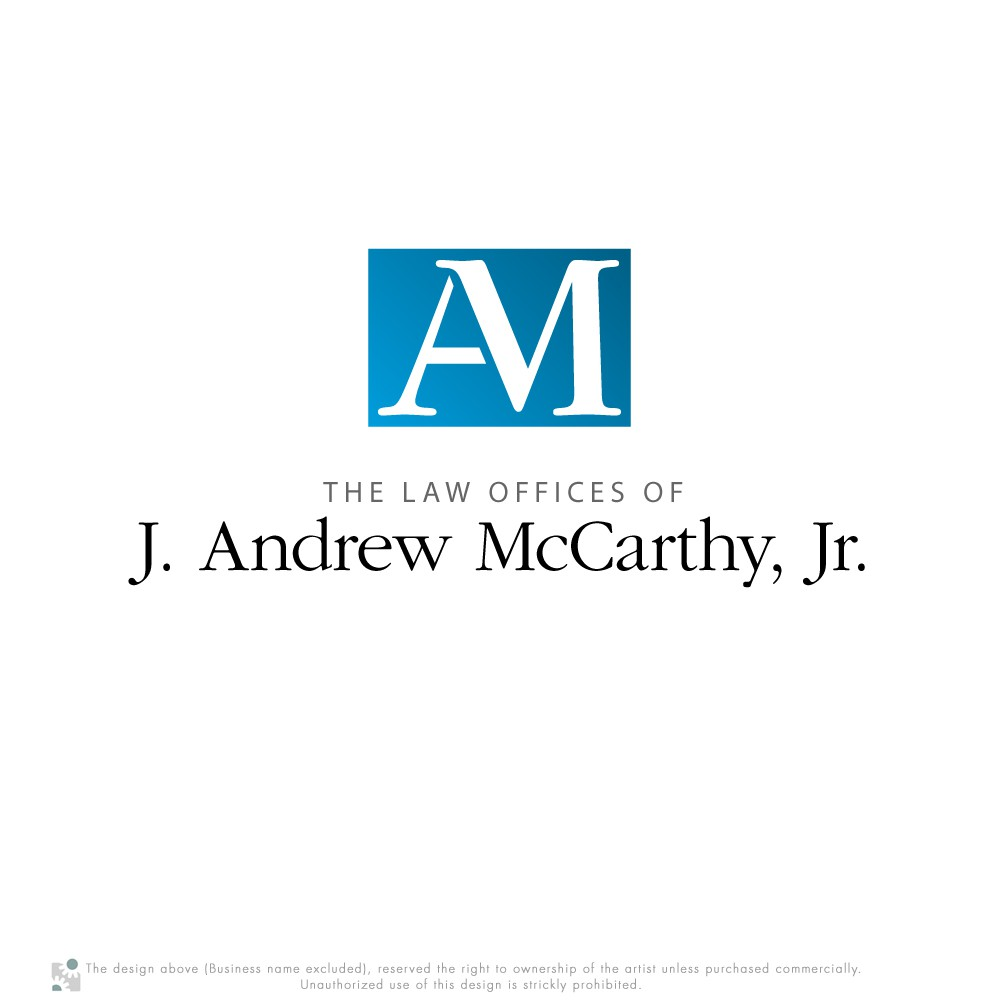 Create the next logo for The Law Offices of J. Andrew McCarthy, Jr.