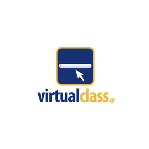 logo design for virtualclass.gr