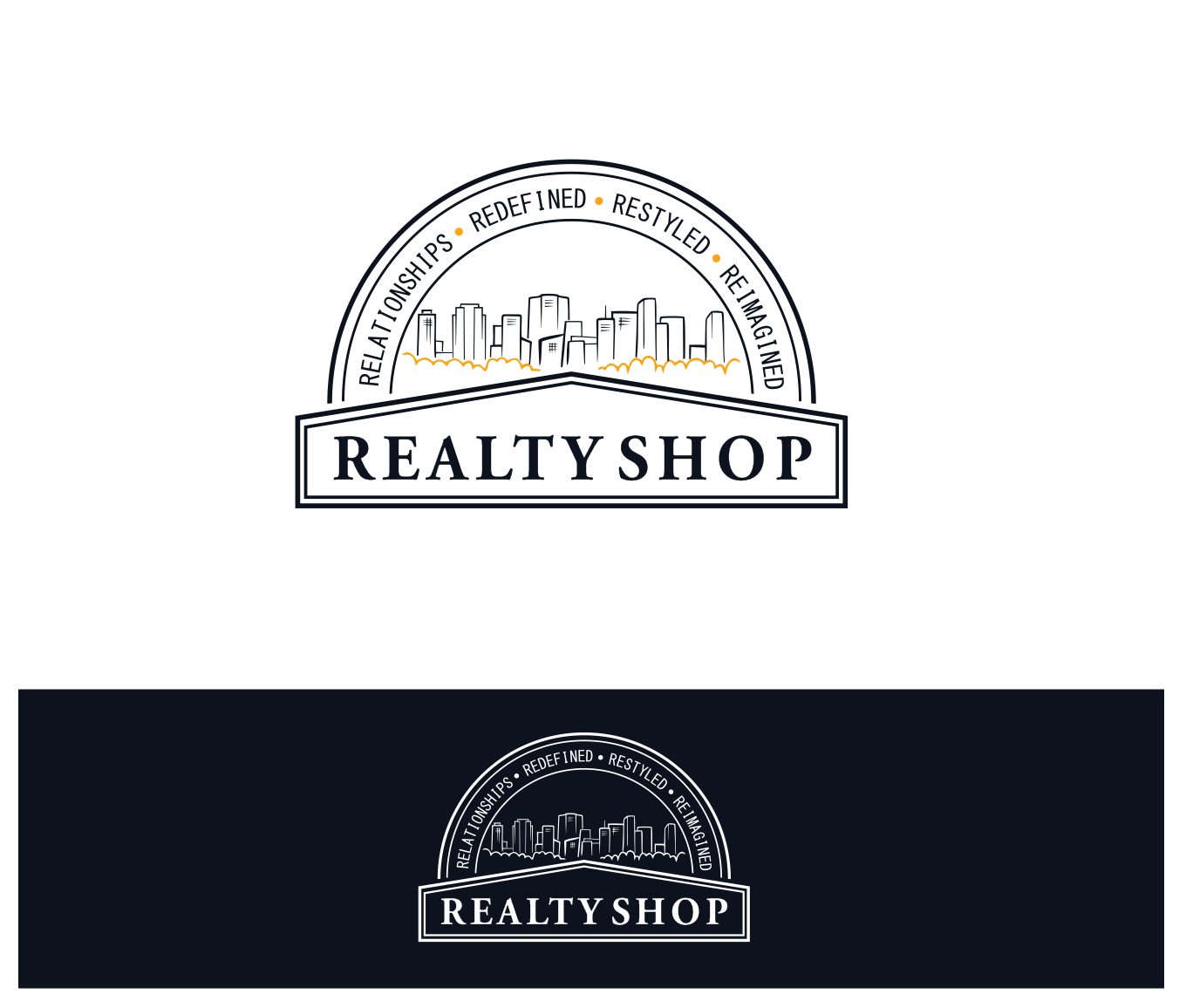 Design an Edgy, Agressive, yet still fun logo for The Realty Shop