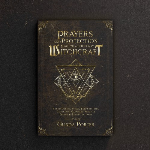 """Book cover """"Players and Protection Magick to Destroy Witchcraft"""" - Glinda Porter"""