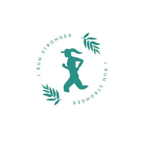Female Running club Logo