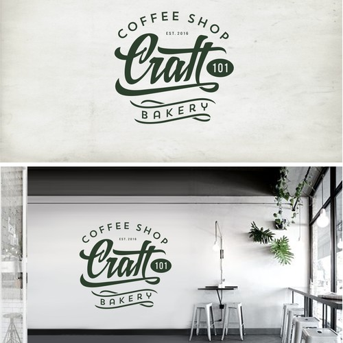 Logo for coffee shop & bakery