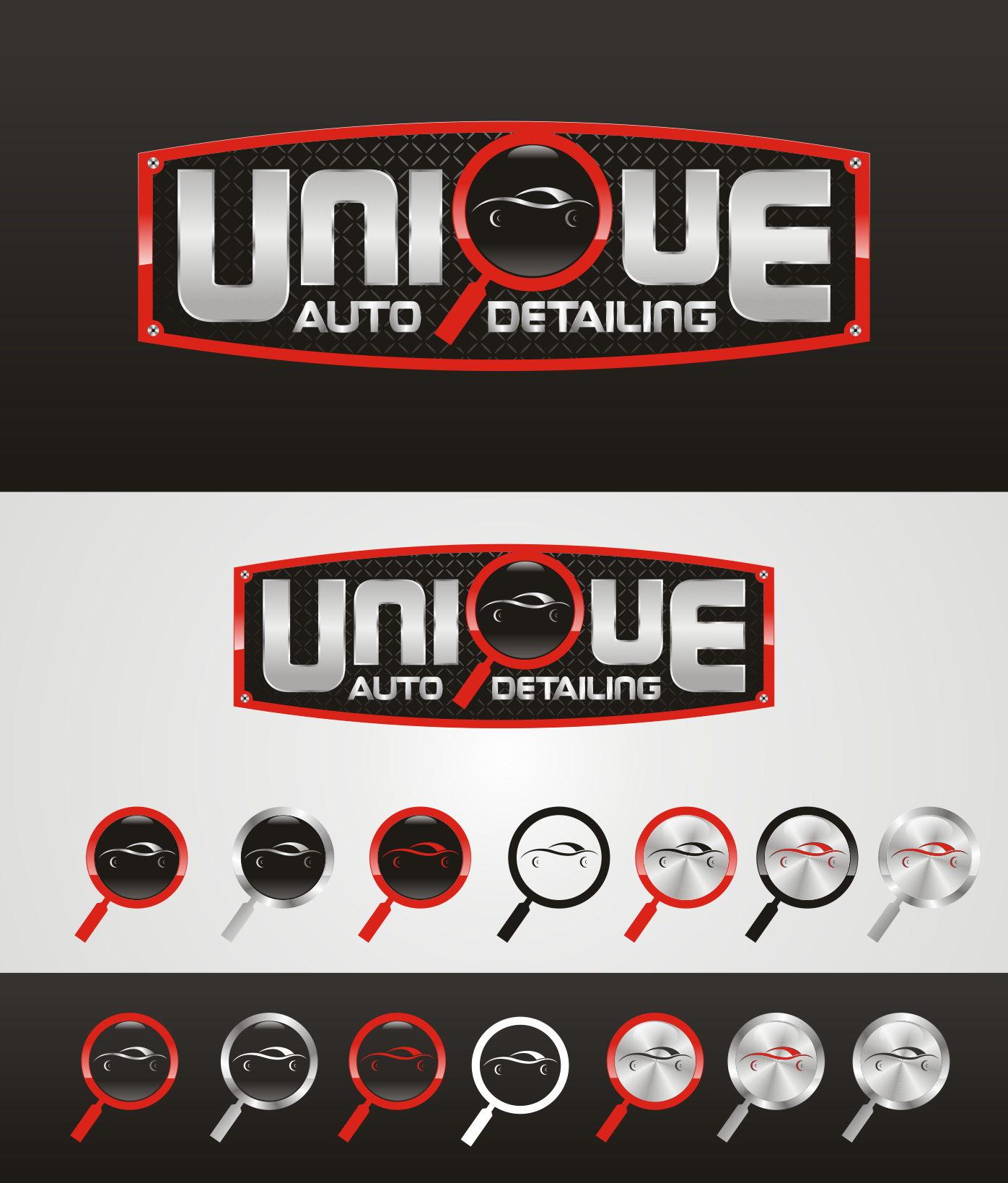 UNIQUE AUTO DETAILING needs a new logo