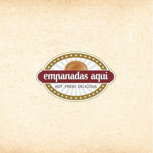 Design for empanadas aqui