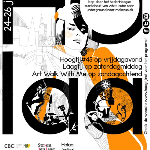 Art festival poster