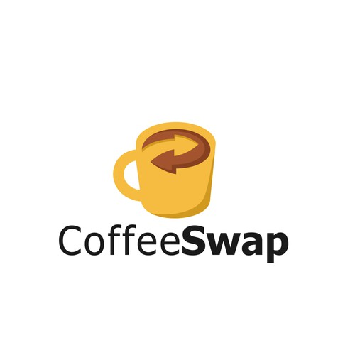 Creative logo for Coffee Swap.