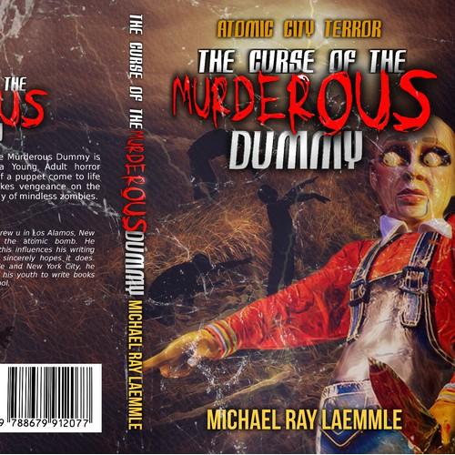 Horror cover design