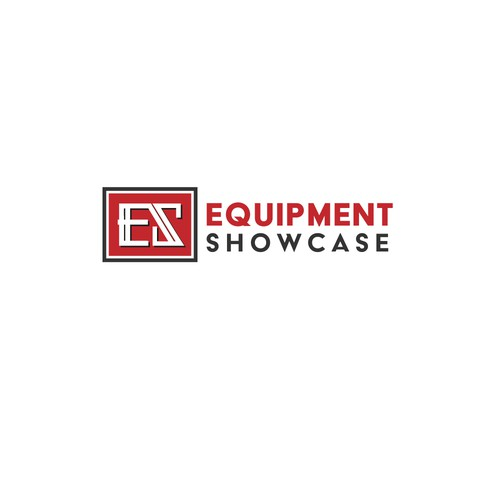 Bold logo for equipment company
