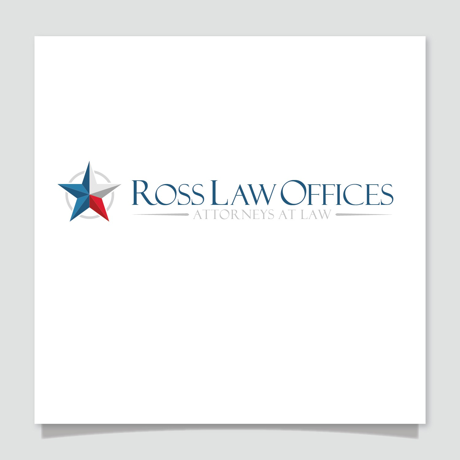 Ross Law Offices needs a new logo