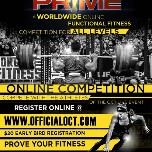 PRIME world fitness online competition