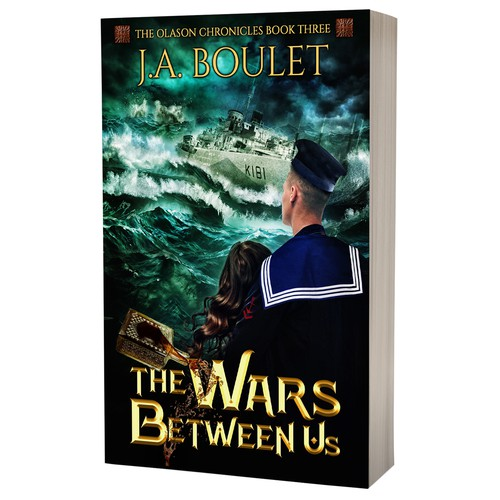 Book cover design - The Wars Between Us