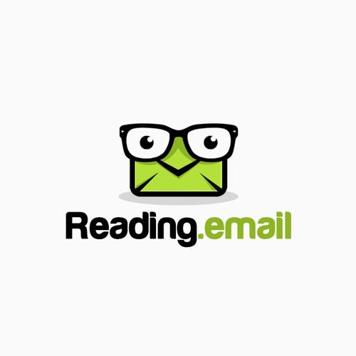 Reading.email logo design.