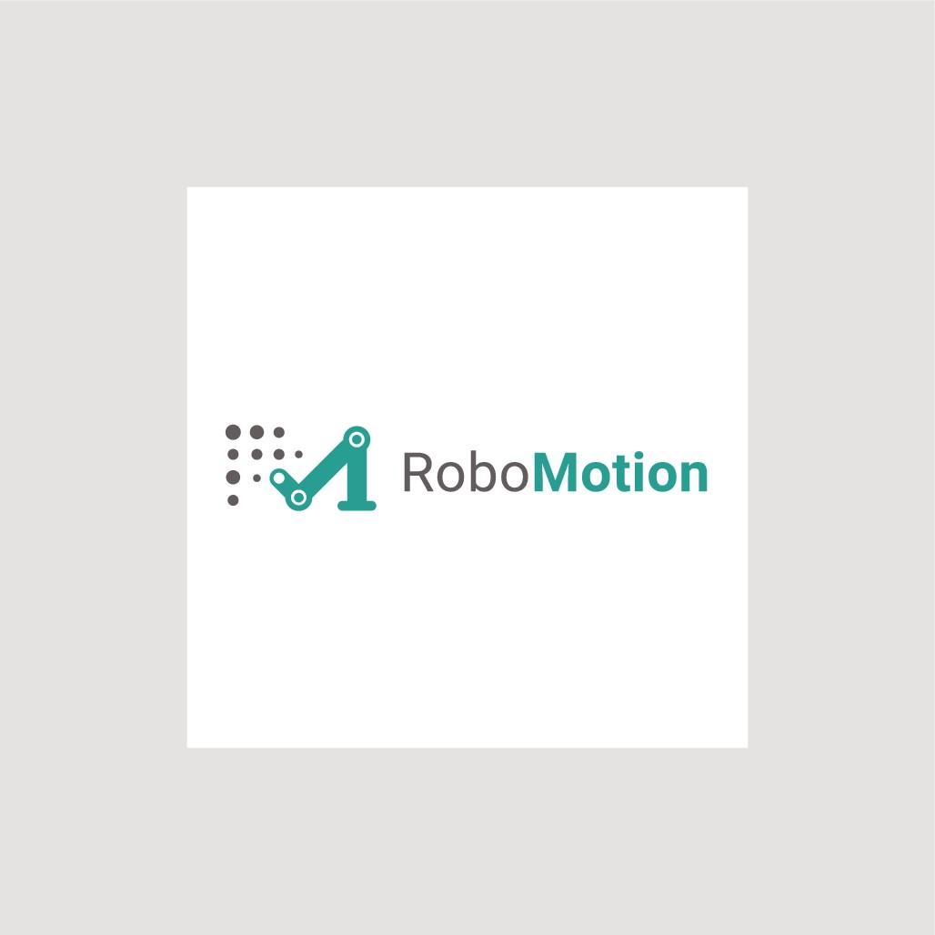Design an identity for industrial robotics company RoboMotion