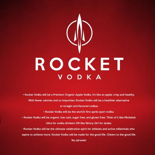 Vodka logo design