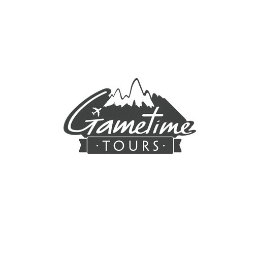 Logo concept for Gametime Tours