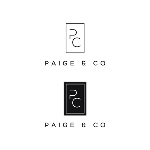 Retail business logo, Paige and Co