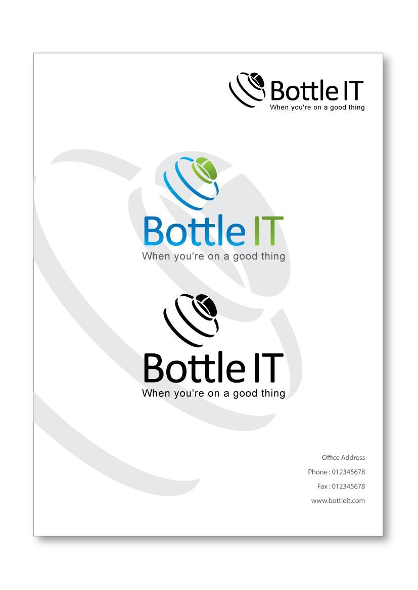 Create the next logo for BottleIT