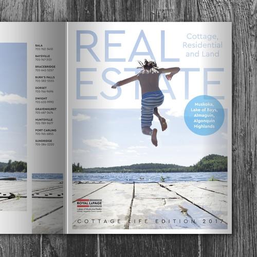 Real Estate catalog cover