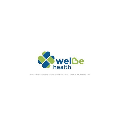 Welbe Healt Logo Concept