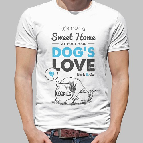 Fun t-shirt for dog lovers!