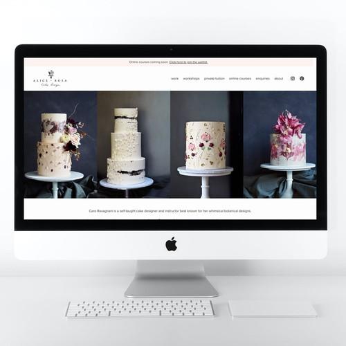 Alice+Rosa Cake Design