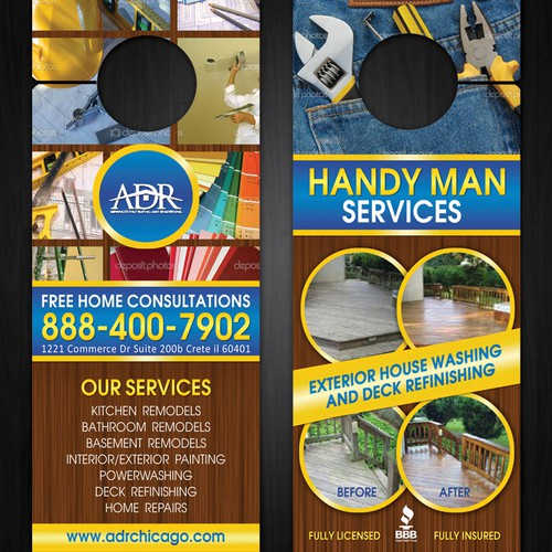 Advanced Decorating & Remodeling  needs a new postcard or flyer