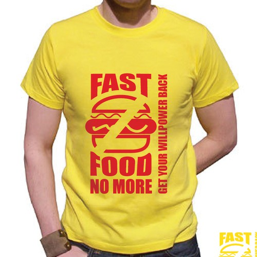 "Create a cutting edge logo for ""Fast Food No More"""