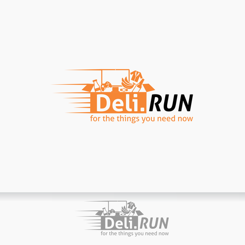 logo for deli run