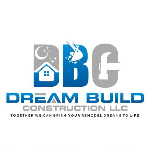 create logo for Dream Build Construction