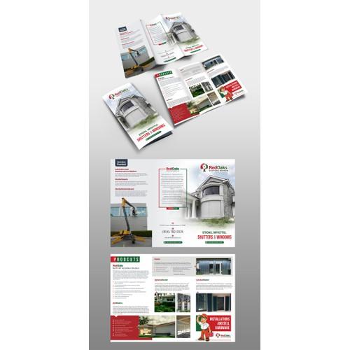 Design a Hurricane Shutter Protection Brochure
