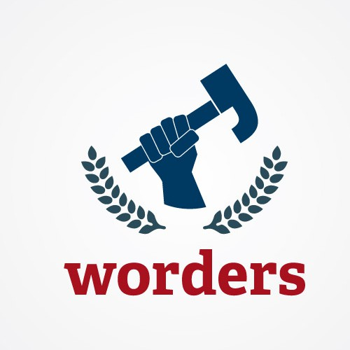 Need YOU to create the logo of Worders with a powerful font
