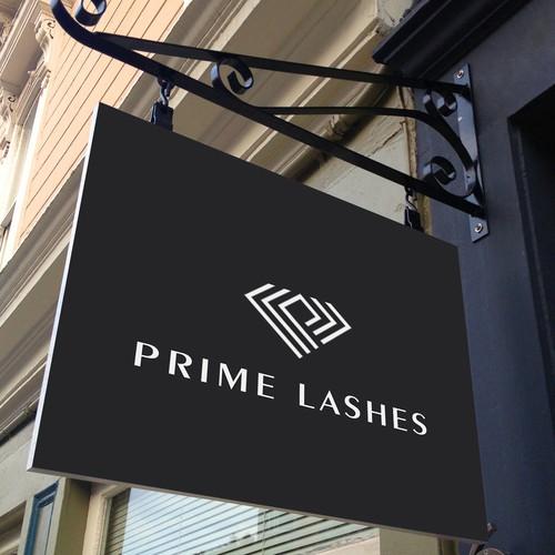 Logo for Prime Lashes