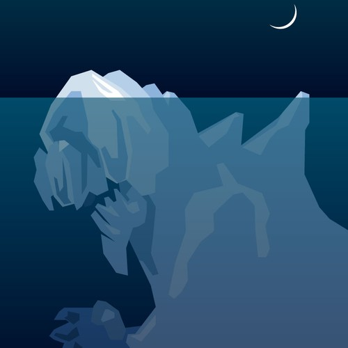 Looking for someone to create an iceberg illustration for me