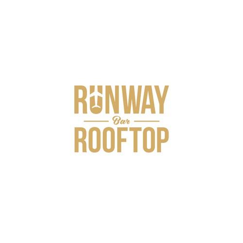 logo concept for Runway Rooftop Bar