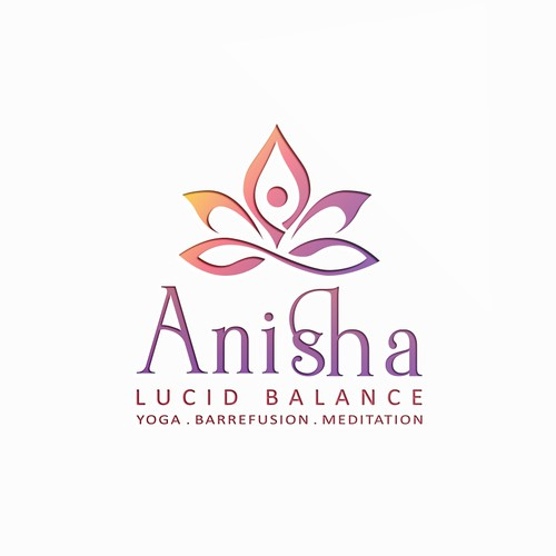 Nice logo for a yoga studio