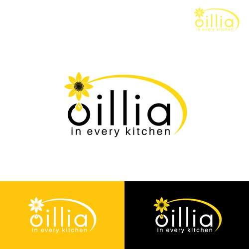 Logo concept for Oillia.