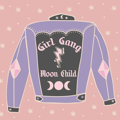 Moon Child Jacket Illustration