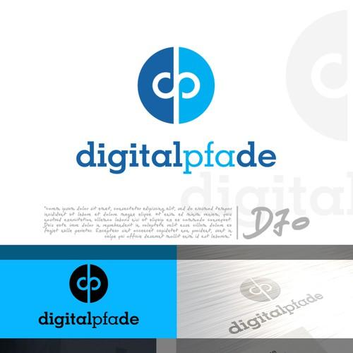 Initial Text logo