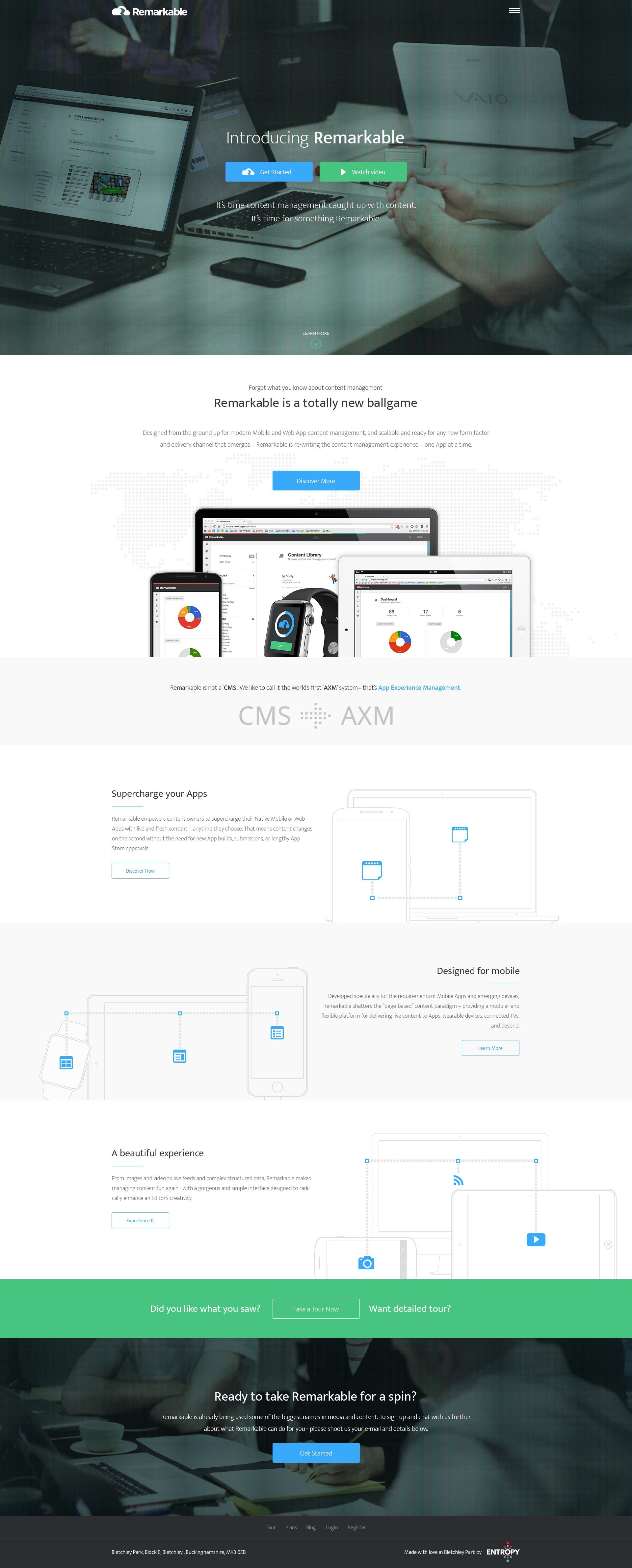 Remarkable CMS Web App Needs a Remarkable Design!