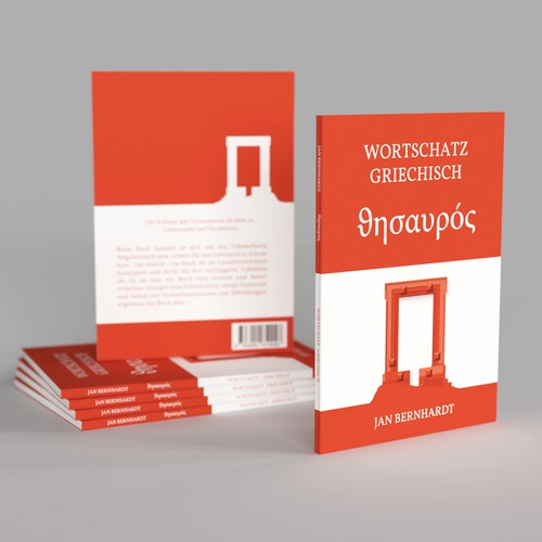 Clear and Minimalistic Cover for Greek Language Learning Book