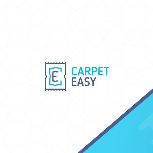 Logo concept for a young carpet company