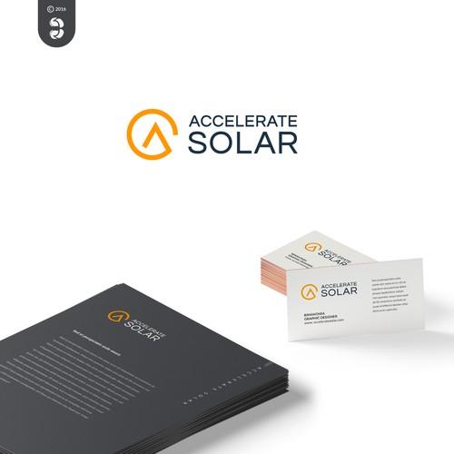 Accelerate Solar Logo