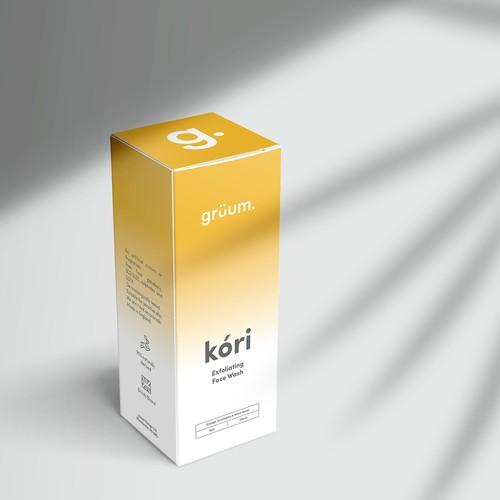 Packaging Design for Grüum