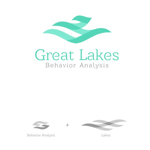 Behavior, Educations and Psychology Logo Concept