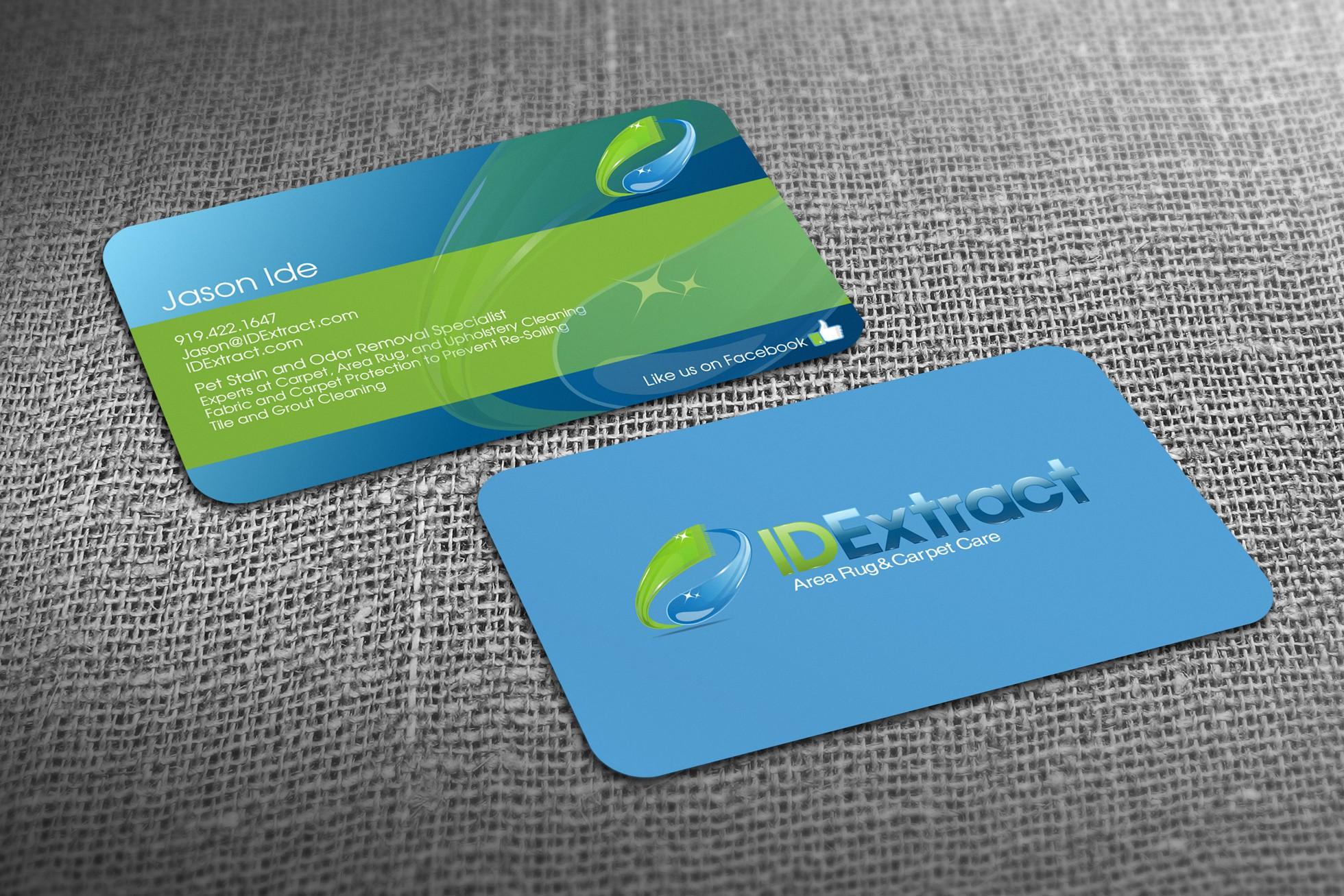 IDExtract needs a new logo and business card