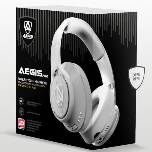 Headphones Package Design